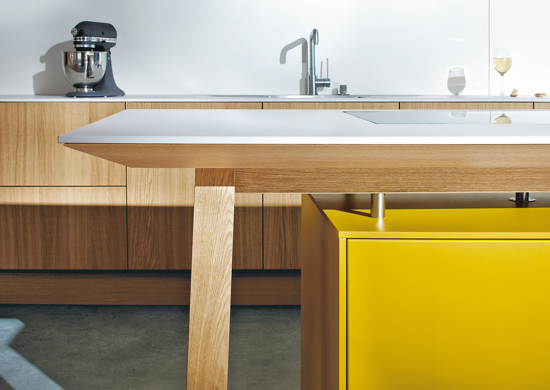 Brightly Coloured Kitchens