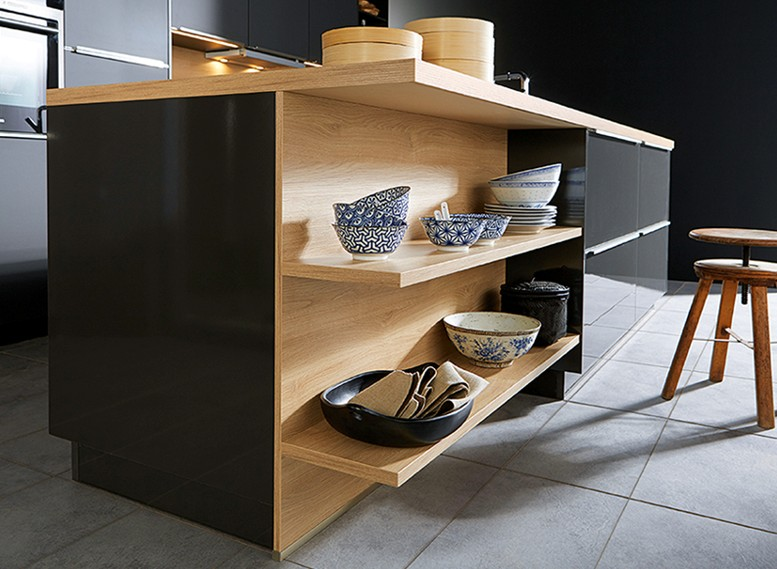 Side Cupboard Storage Solution