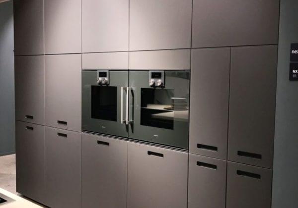 Next 125 Agate Grey Matt Glass Kitchen