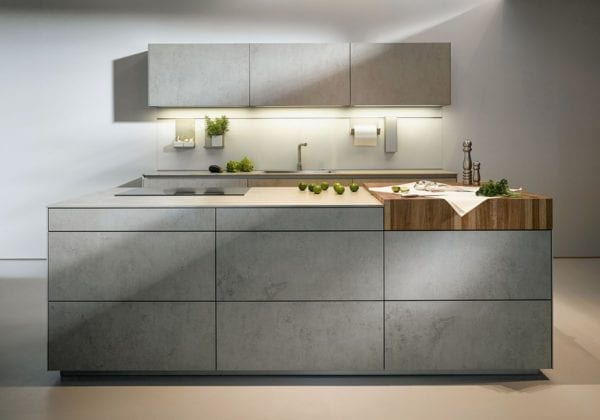 Next 125 Ceramic Concrete Kitchen