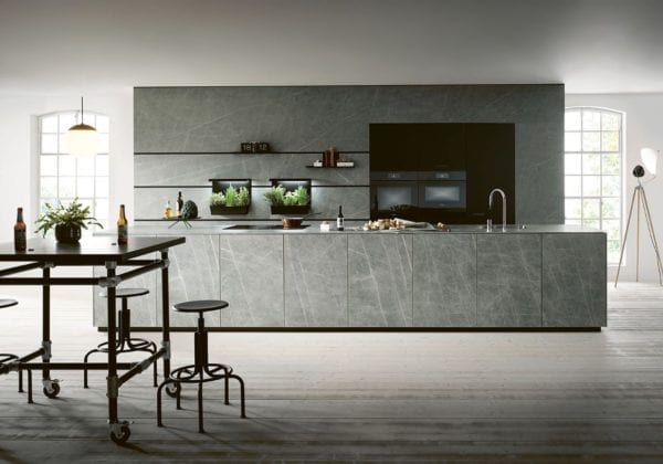Next 125 Ceramic Marble Grigio Kitchen