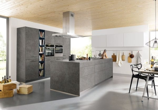 C Range Ceramic Steel Grey Kitchen