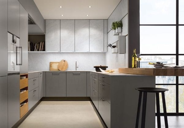 Next 125 Agate Grey Matt Kitchen